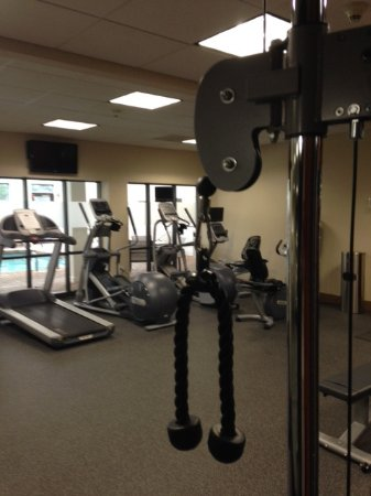 Hampton Inn Boston-Logan Airport: Gym
