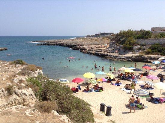 Monopoli, Italy: La spiaggia