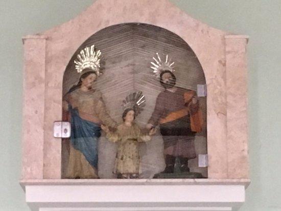 Igreja de Sao Jose da Boa Vista: Igreja de São José da Boa Vista - detalhe
