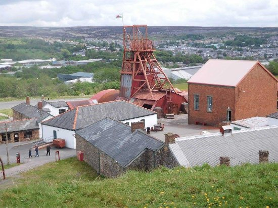 Blaenavon, UK: View over the mine head