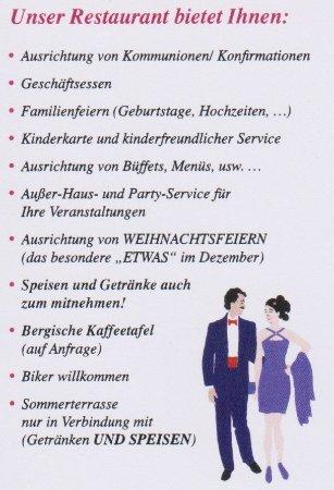 Visitenkarte Rückseite Bild Von Tri Angeli Morsbach