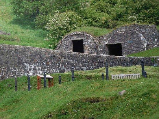 Blaenavon, UK: More of the ironworks