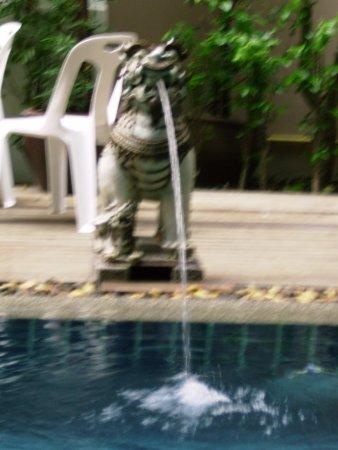 Seeka Boutique Resort: pool decor