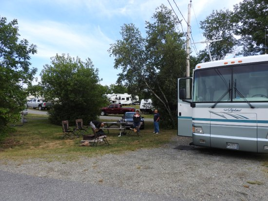 Bar Harbor Campground: Site D-7