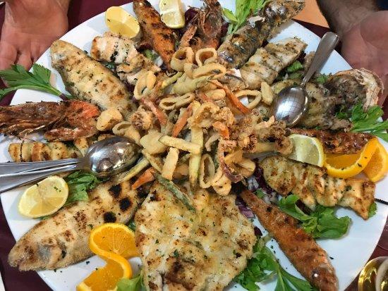 L'Angelo Azzurro : Grigliata mista di pesce! Top!!