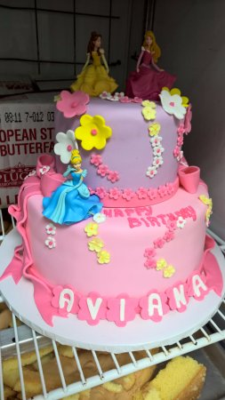 Gourmet Bake Shop Princess Birthday Cake