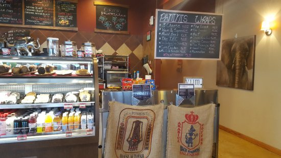 Pewaukee, WI: Imported coffee