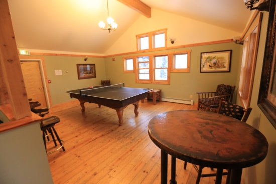 Clark, CO: Ping-pong in Lodge