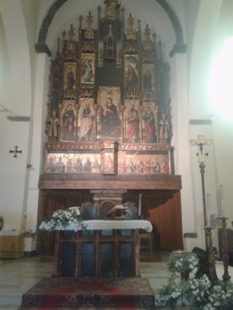 Castelbuono, Italie : altare principale