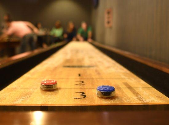 Wyandotte, OK: Club 60 West Shuffleboard at River Bend Casino • Hotel