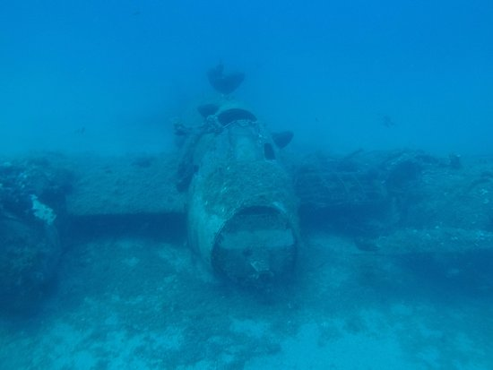 Blue Fin Divers Naxos Greece: The Lost Beaufighter