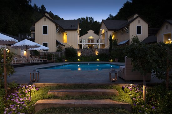 Forestville, Califórnia: Farmhouse Inn pool