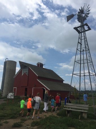 Longmont, CO : we learned so much walking around the farm