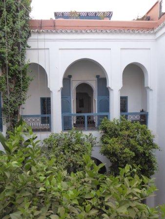 Riad Sekkat: Vue des chambres sur le patio central