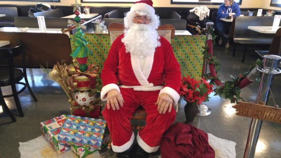 Santa took time out of his busy schedule to visit the fine folks of Milaca!