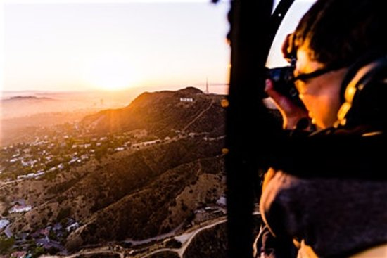 Fullerton, CA: experience the Hollywood Sign from up above