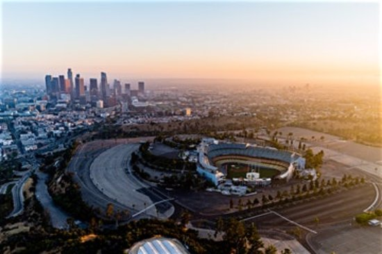 Fullerton, Californien: Dodger Stadium
