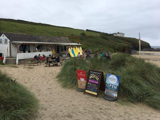 Mullion, UK: The Beach Café at Poldhu.