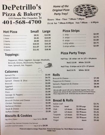 Pizza In Chepachet Rhode Island