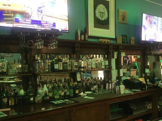Abilene, KS: The well stocked bar
