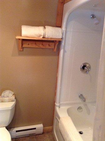 Brighton, Canada: Clean bathroom, cozy too.