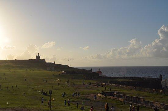 San Juan National Historic Site: View of the Castle