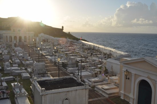 San Juan National Historic Site: View from the old cemetery