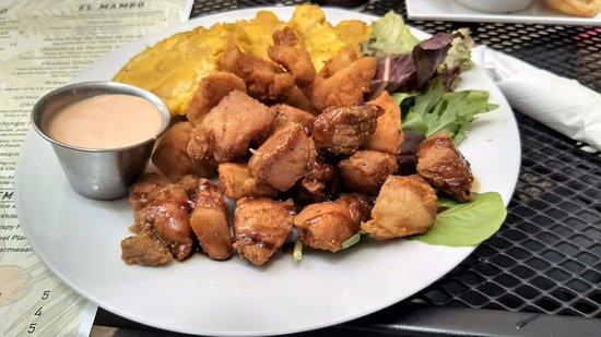 Sabor y Rumba: rumba - carne frita + chicharrones de pollo