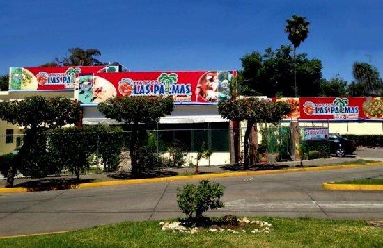 Zamora de Hidalgo, Mexico: Las Palmas Mariscos Estilo Nayarit
