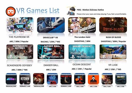 Henderson, Nova Zelândia: Sony PlayStation VR Games