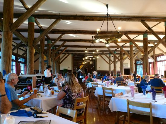 Ashford, WA: The restaurant