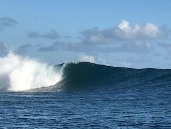 Teahupoo, Polinezja Francuska: The famous break at Teahupo'o, approx 2.5m
