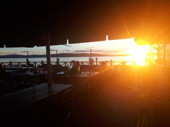 Ludvika, Sverige: Sunset