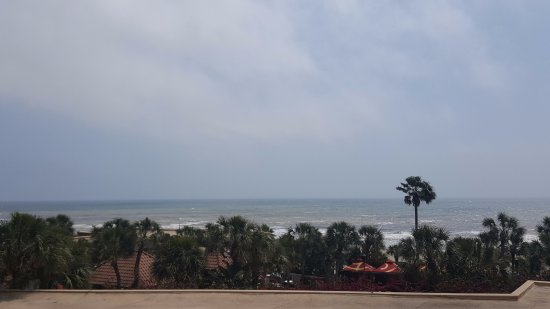 The San Luis Resort: View from our balcony!
