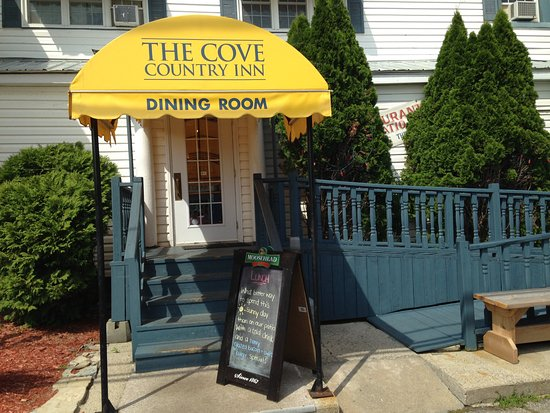 the cove dining room street entrance picture of the cove. Black Bedroom Furniture Sets. Home Design Ideas