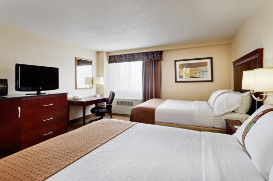 Holiday Inn Binghamton - Hawley St/Downtown: Double Bed Guest Room