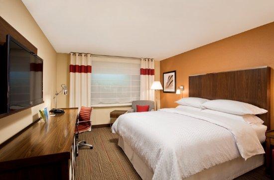 Sherwood Park, Καναδάς: Model Room Guest Room