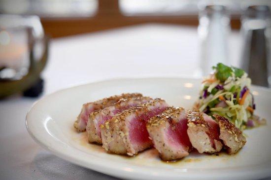 Delhi, LA: Asian Rare tuna appetizer