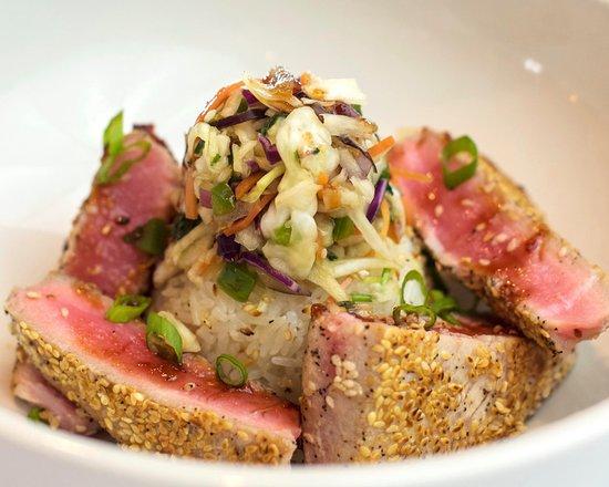 Delhi, LA: Asian Rare tuna entree