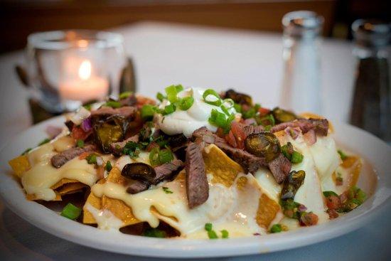 Delhi, LA: Sirloin Steak Nachos