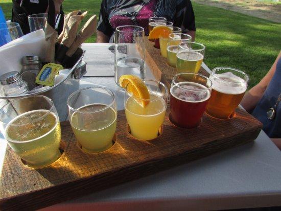 Becancour (เมืองเบคาคูร์), แคนาดา: dégustation de bières
