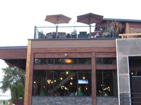 Becancour (เมืองเบคาคูร์), แคนาดา: terrasse au deuxième