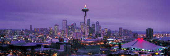 Sheraton Seattle Hotel: Seattle during the holiday season
