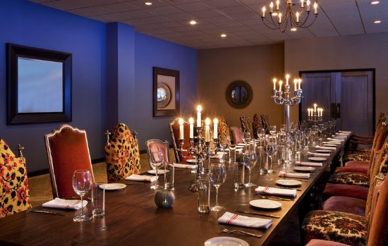Sheraton Lincoln Harbor Hotel: Private Dining Room