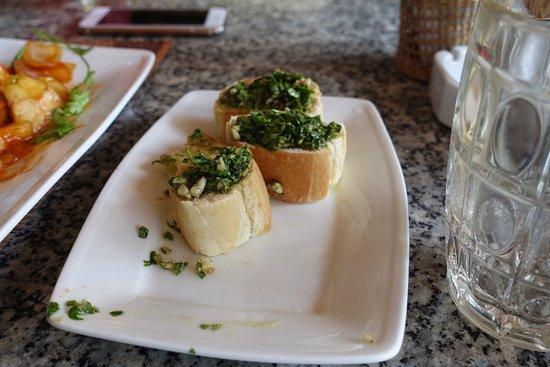 Indigo Restaurant : 맛있어서 정신없이 먹다가 찍은 사진.