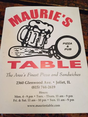 Joliet, IL: Maurie's Table Incorporated