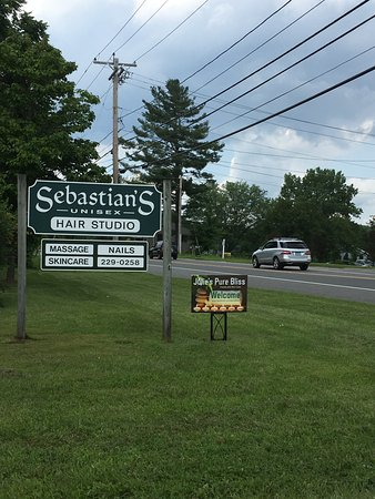 Great Barrington, MA: Sheffield, MA - upstairs in Sebastian's Hair Studio