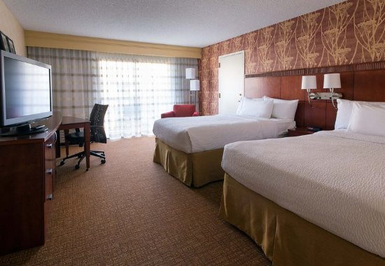 Pleasanton, Californië: Double/Double Guest Room