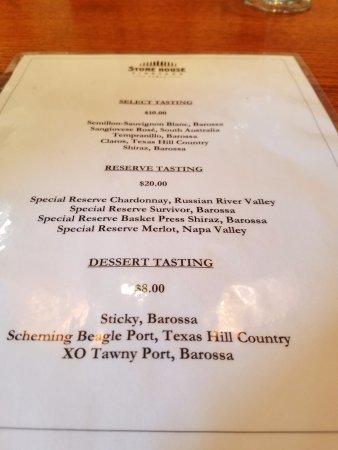Spicewood, TX: Tasting Menu