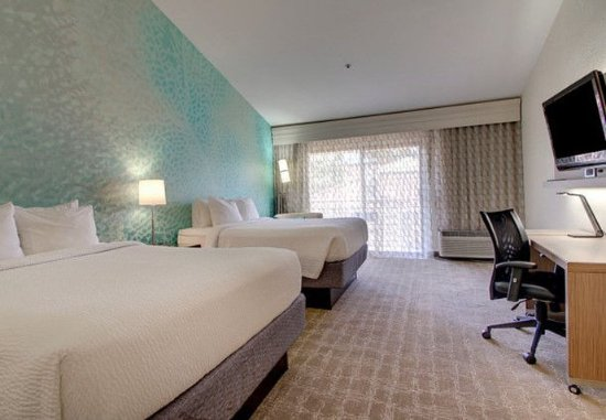 Solana Beach, Californie : Queen/Queen Guest Room
